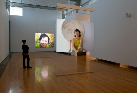 WHITE OUT, installation shot, 2002
