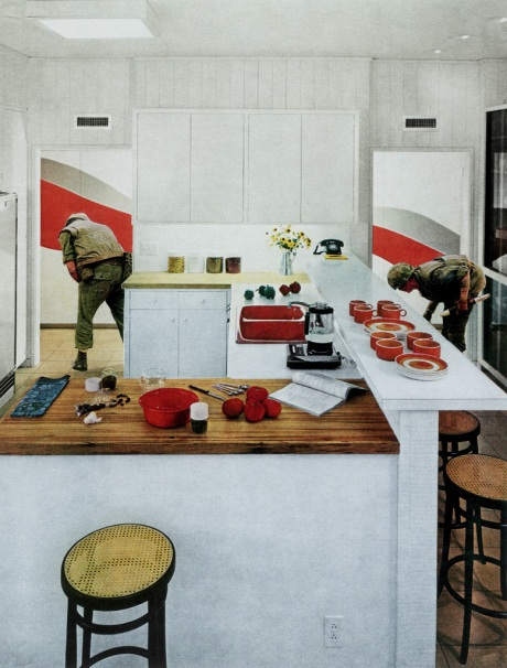 martha-rosler-red-stripe-kitchen